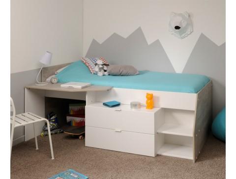 Cama nido y escritorio Elisa