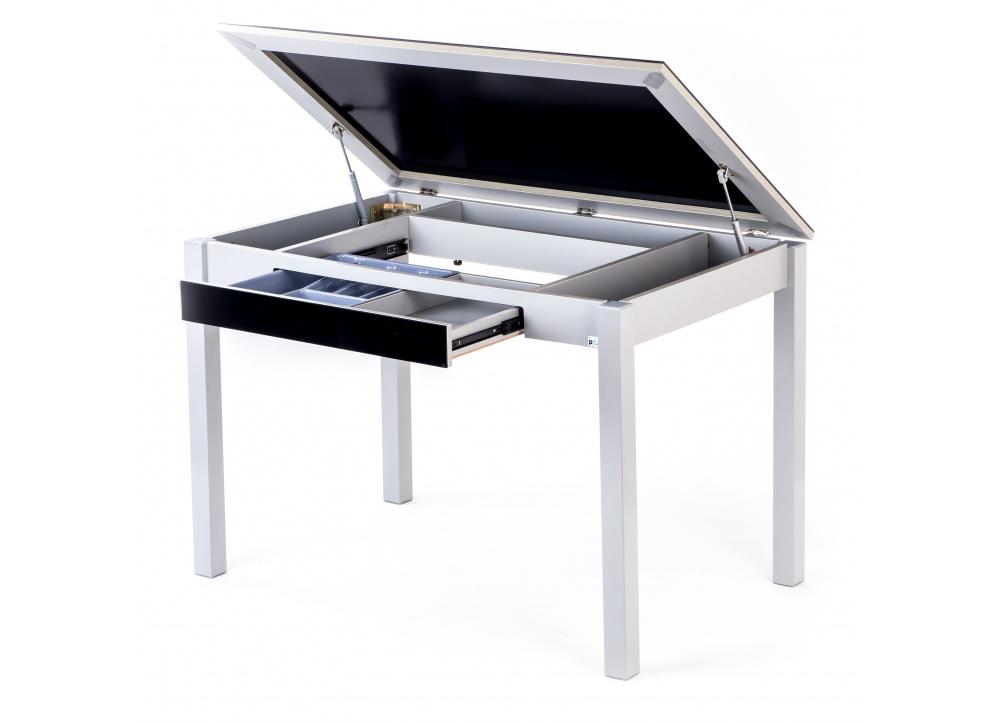 Mesa de cocina con cajón Bossa