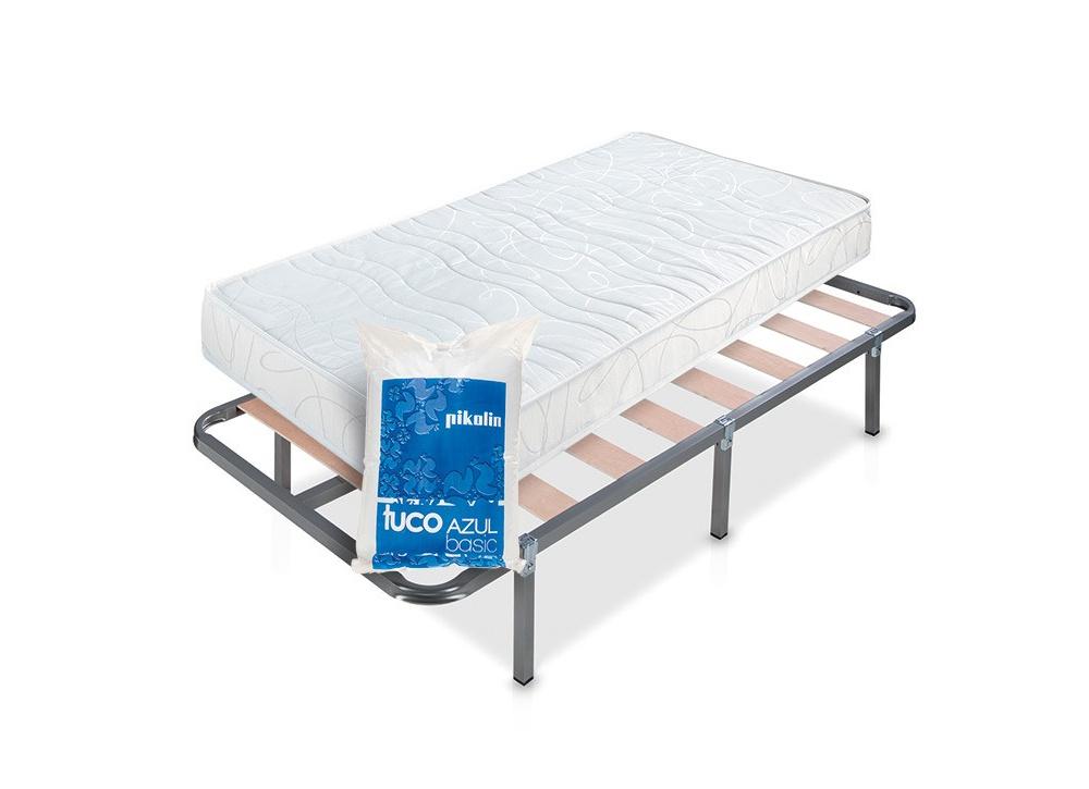 Superpack ahorro 90 cm: colchón+somier+almohada